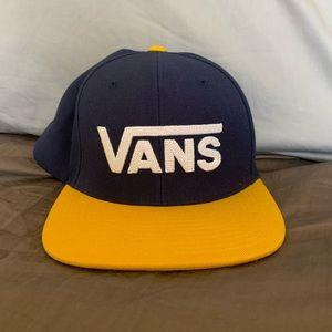 Vans Navy and Yellow Snapback